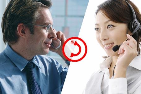 電話通訳サービス「マルコ」 Telephone interpretation